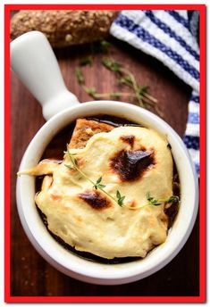 onion soup recipe vegetarian-#onion #soup #recipe #vegetarian Please Click Link To Find More Reference,,, ENJOY!! Healthy Recipes, Whole Food Recipes, Vegetarian Recipes, Cooking Recipes, Vegetarian Cookbook, Healthy Soup, Family Recipes, Recipes Dinner, Onion Soup Recipes