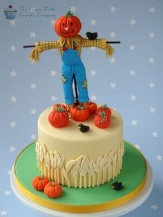 Scarecrow Cake | Flickr - Photo Sharing!