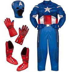 The Avengers Deluxe Captain America Costume for Boys Baby Girl Toys, Toys For Girls, Ninja Turtle Bedroom, Lego Custom Minifigures, Light Up Costumes, Cute Suitcases, Captain America Costume, Nerf Toys, Marvel Comics Superheroes