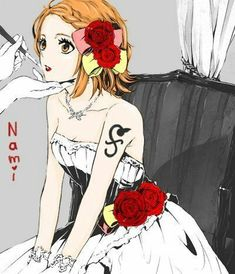 Read Nami from the story Imágenes y Memes de ONE PIECE by DreamerRollingGirl (Lxw-yx~) with reads. One Piece Manga, One Piece Fanart, One Piece Luffy, Fanart Manga, Manga Art, Nami Swan, One Piece Tattoos, Luffy X Nami, The Pirate King