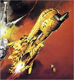 The Centauri Device is one of artworks by Peter Andrew Jones. Artwork analysis, large resolution images, user comments, interesting facts and much more. Spaceship Art, Spaceship Design, Sci Fi Kunst, Science Fiction Kunst, Perry Rhodan, Star Trek, Sci Fi Spaceships, 70s Sci Fi Art, Sci Fi Ships