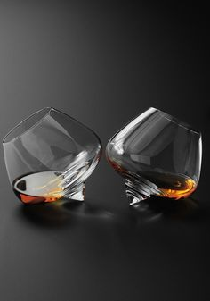 Cool Whisky Glasses for the cognac & cigar room.