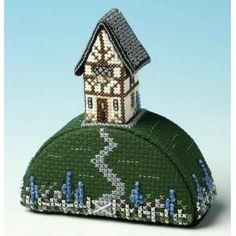 image of Gardeners World Paperweight 3D Cross Stitch Kit