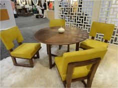 Retro reinvented for commercial furniture #interiordesign