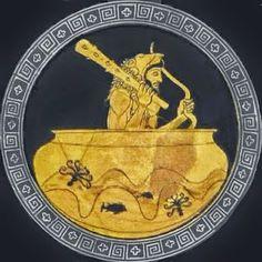 Η ΛΙΣΤΑ ΜΟΥ: Το υπερατλαντικό ταξίδι τoυ Ηρακλέoυς πoυ δεν διδά... Greek History, Simple Minds, Ancient Greece, Mythology, Hero, Painting, Vases, Wolf, Education
