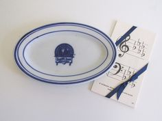 Denver and Rio Grande Small Platter Railroadiana Dinnerware Syracuse China Co. 1900's by RollingHillsVintage on Etsy