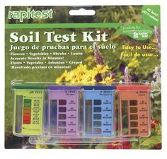 Soil Test Kit *** Want additional info? Click on the image.(This is an Amazon affiliate link and I receive a commission for the sales)
