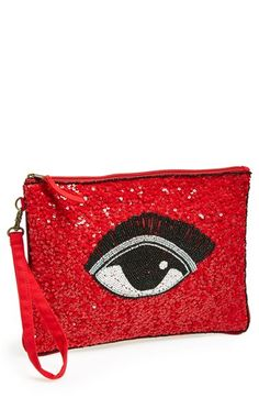 650531a2bec NILA ANTHONY Beaded Eye Clutch available at  Nordstrom Eye Trends