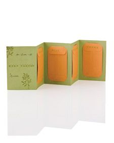 Fresh herbs are easy to cultivate, and watching the seedlings sprout may draw a would-be gardener into the plant world. Encourage novices with a gift of herb seeds in a specially designed card.