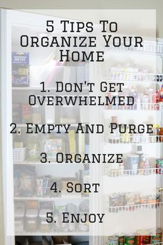 5 Tips To Organzing Your Home Household Organization, Organization Hacks, Organizing Ideas, Parenting Memes, Parenting Advice, Blog Online, It Gets Better, Feeling Overwhelmed, Organizing Your Home
