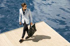 adam dutti011 800x533 Adam Senn Sails in Style for Massimo Duttis June 2013 Lookbook