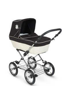 Sleepover Elegance Pram - Cream & Black - $1,249 from Silver Cross www.silvercross.com.au/shop/Silver-Cross-Pram-Systems/Silver-Cross-Sleepover-Elegance/Sleepover-Elegance-Pram-Cream-Black/