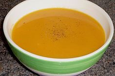 Süßkartoffel - Chili - Suppe