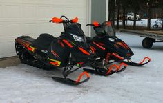It's never too early to get your winter ride ready to go, right? Dip your snowmobile!