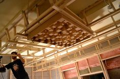 timber pallet acoustic diffusers - Google Search