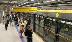 Move Metrópole | Sempre em movimento!: Linha 4 – Amarela atinge 1 bilhão de passageiros t...
