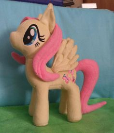 My Little Pony Friendship is Magic Fluttershy by MinkyPlushies, $125.00