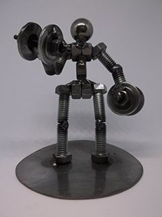 Welding Art Projects, Metal Art Projects, Diy Welding, Metal Crafts, Metal Yard Art, Scrap Metal Art, Wooden Scooter, Metal Figurines, Steel Art