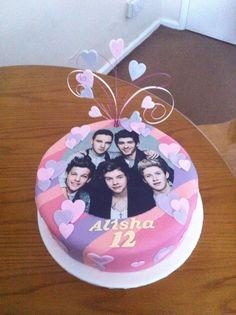 One Direction cake #timeforteaandcakes #onedirection