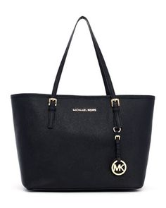 MICHAEL Michael Kors  Small Jet Set Saffiano Travel Tote. $228