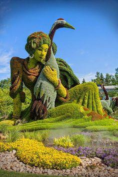 The Montreal Botanical Garden , Quebec, Canada