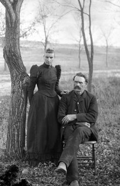 Outdoor Victorian Portrait of Man and Woman from Wisconsin. Tap on photo for info on photographer.from Black River Falls, WI. I will need to check family photos to see if he was the photographer. Victorian Portraits, Victorian Photos, Antique Photos, Vintage Pictures, Old Pictures, Old Photos, Photographs Of People, Vintage Photographs, Post Mortem Photography