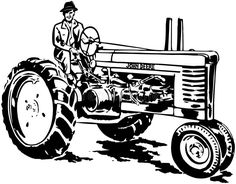 John Deere Tractor To Print Coloring Pages For Kids And