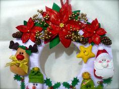 barbaridades no feltro: Guirlandas para o Natal