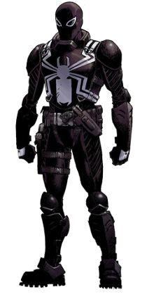 Agent Venom (Earth-616). I hate Venom, but this is actually a pretty cool costume.