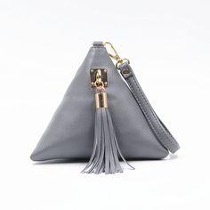 Мода мини кисточкой клатч черной кожаной сумкой дизайнер кошелек известный бренд женщины бахрома сумочку вечерние Bolsa Feminina тас