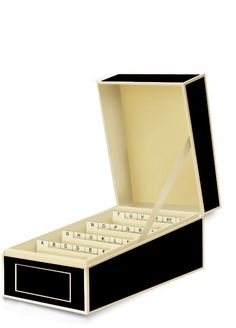 Visitenkartenbox in schwarz von Semikolon: Amazon.de: Bürobedarf &…
