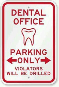 A dental funny.