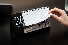 BR Calendar 2013 by Bureau Rabensteiner , via Behance