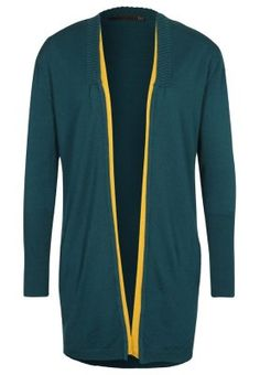 ITI Cardigan - verde for £85.00 of 100% wool.