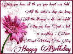 happy birthday wishes to a friend pics