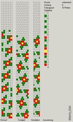 50 схем для вязания жгутов на 5-6 бисерин / Вязание с бисером / Biserok.org