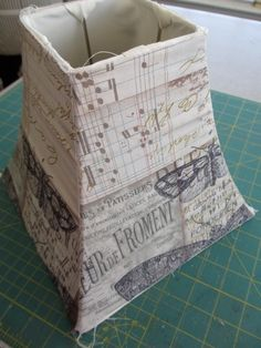 One of the projects I made for the Quilt Market booth was a fabric covered lampshade.  I knew I wanted to use the Eclectic Elements - Melang...