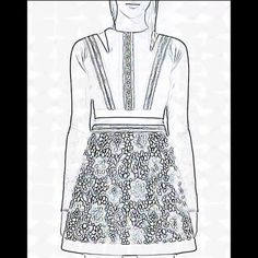 fashion sketch cedress