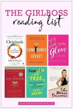 This reading list for female entrepreneurs features 18 of the best business books for women to read this year! Click through to see which of the best books for girlbosses made the list for 2018 from solopreneur and former actuary Stephanie Ziajka from Dia Books To Read For Women, Best Books To Read, Books For Teens, Best Books Of All Time, Best Love Books, Books To Read In Your 20s, Best Self Help Books, Motivational Books, Inspirational Books