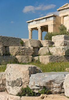 Stones, Acropolis, Athens, Greece