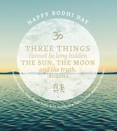 Happy Bodhi Day - featuring the Skolar typeface from Rosetta - art by @baylee_brown #Typography #Fonts #Fontspiration