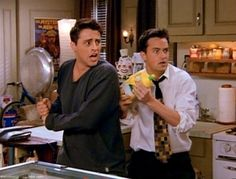 Joey and Chandler <3   i want them defending me if an attacker comes!!