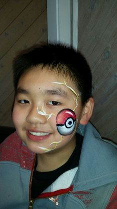 Pokemon face paint