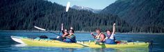 Half-Day Alaska Sea Kayaking Trips | Kayak Adventures Workdwide - Seward, AK