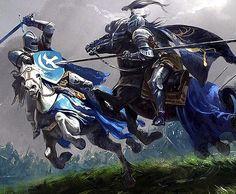 Knights Battle_Alexander Deruchenko