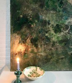 TREASURE HUNT (10)  #abstract#emeraldgreen#gold#contemporary