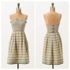 Anthropologie Changing Stripes Dress!