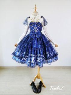 [Replica] Angelic Pretty Crystal Dream Carnival Lolita JSK