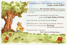 Winnie-the-Pooh Quotes that Will Make You Instantly Feel Better About Life Missing Someone Quotes, Missing Quotes, Clever Quotes, Great Quotes, Pooh Bear, Tigger, Winnie The Pooh Quotes, How Lucky Am I, Christopher Robin