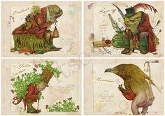 Corte Maldita Guía de seres mágicos. Libro por MontseRubioArt